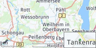 Google Map of Tankenrain