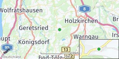 Google Map of Dietramszell