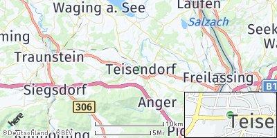 Google Map of Teisendorf