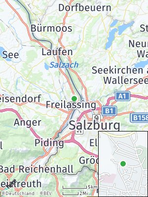Here Map of Freilassing
