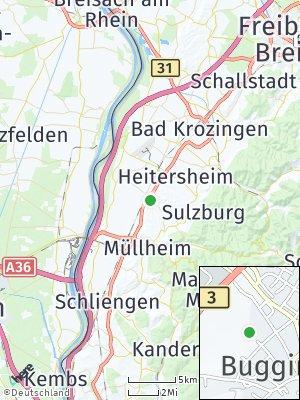 Here Map of Buggingen