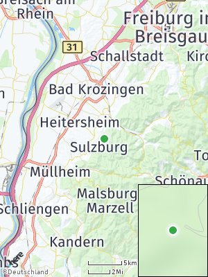 Here Map of Sulzburg