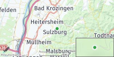 Google Map of Sulzburg