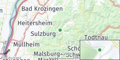 Google Map of Münstertal / Schwarzwald