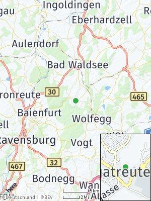 Here Map of Bergatreute