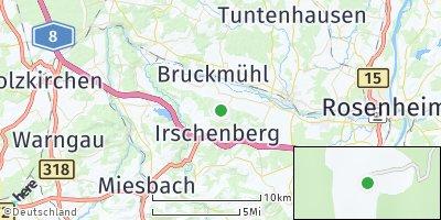 Google Map of Oberleiten