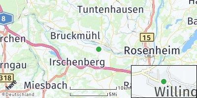 Google Map of Mitterham