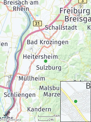 Here Map of Ballrechten-Dottingen