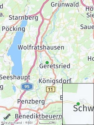 Here Map of Schwaigwall