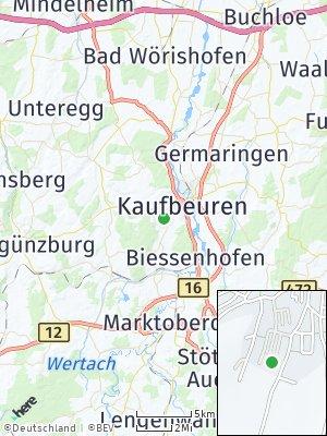 Here Map of Oberbeuren