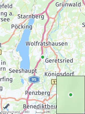 Here Map of Eurasburg