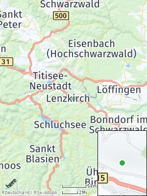 Here Map of Lenzkirch