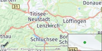 Google Map of Lenzkirch