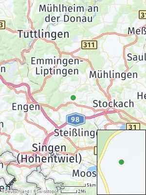 Here Map of Eigeltingen