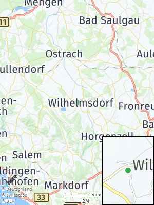 Here Map of Wilhelmsdorf