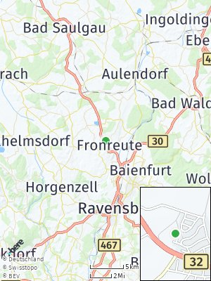 Here Map of Fronreute