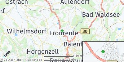 Google Map of Fronreute
