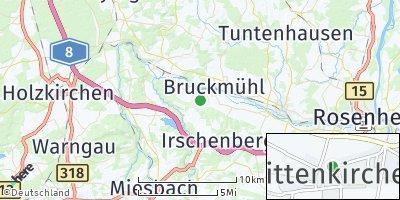 Google Map of Mittenkirchen