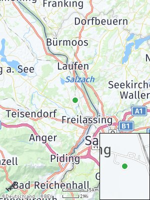 Here Map of Saaldorf-Surheim