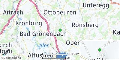 Google Map of Böhen