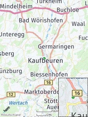 Here Map of Kaufbeuren