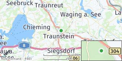 Google Map of Traunstein