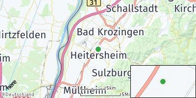 Google Map of Heitersheim