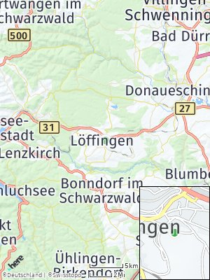 Here Map of Löffingen