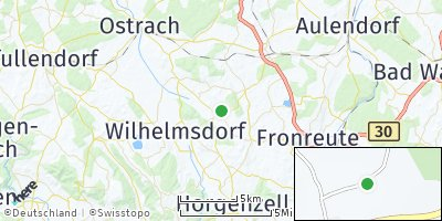 Google Map of Fleischwangen