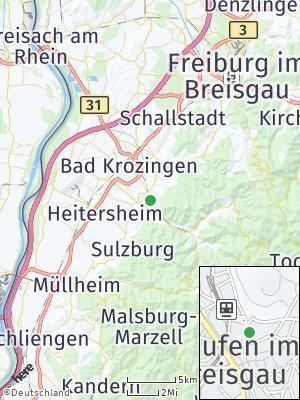 Here Map of Staufen im Breisgau