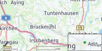 Google Map of Weihenlinden