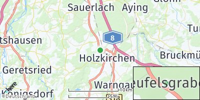 Google Map of Teufelsgraben