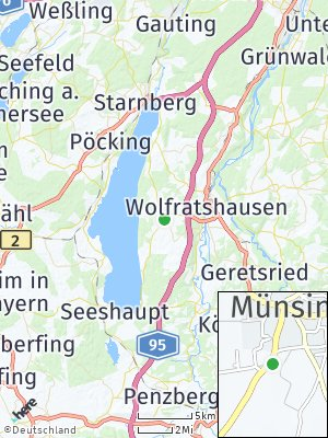 Here Map of Münsing