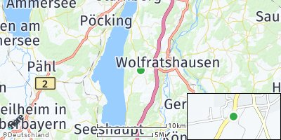 Google Map of Münsing
