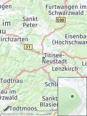 Here Map of Hinterzarten