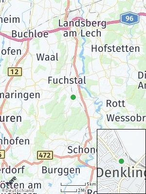 Here Map of Denklingen