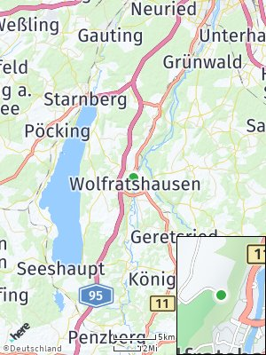 Here Map of Wolfratshausen
