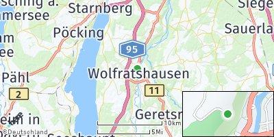 Google Map of Wolfratshausen