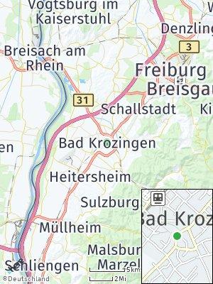 Here Map of Bad Krozingen