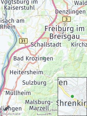 Here Map of Ehrenkirchen
