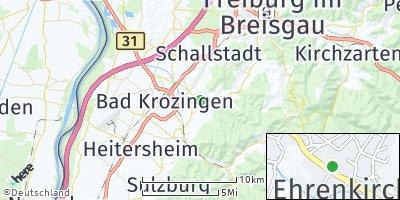 Google Map of Ehrenkirchen