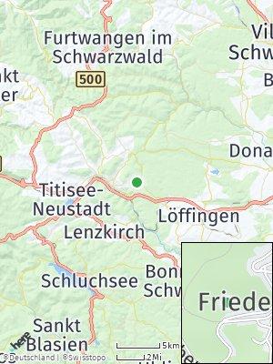 Here Map of Friedenweiler