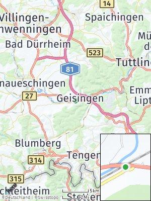 Here Map of Geisingen