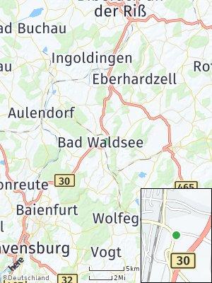 Here Map of Bad Waldsee