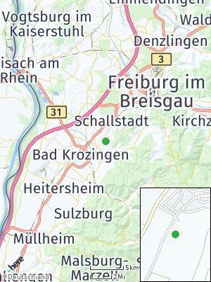 Here Map of Pfaffenweiler