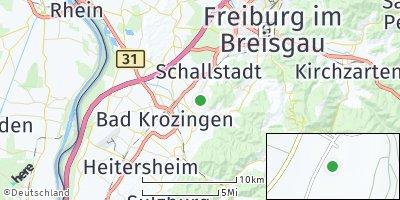 Google Map of Pfaffenweiler