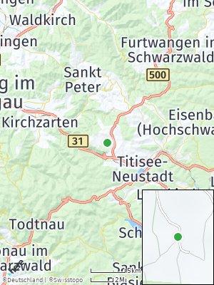 Here Map of Breitnau
