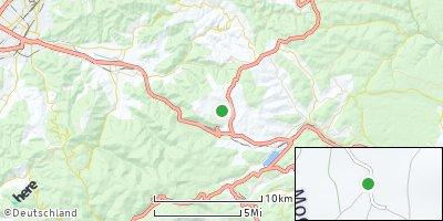 Google Map of Breitnau