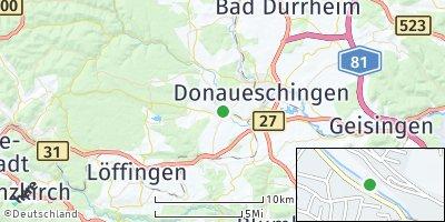 Google Map of Bräunlingen