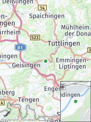 Here Map of Immendingen